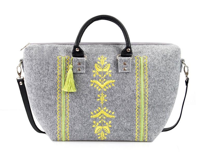 Farbotka Handtasche Ähre gelb