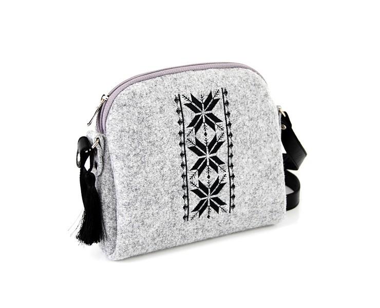 Farbotka Handtasche Rhombus schwarz