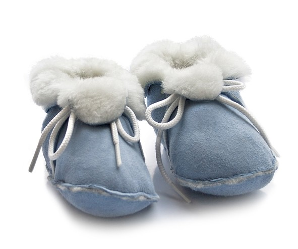 Baby Lammfell Schuhe