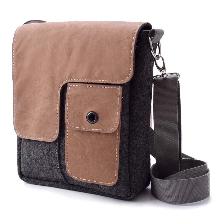 fredrik tasche aus filz handtaschen aus filz filztaschen. Black Bedroom Furniture Sets. Home Design Ideas
