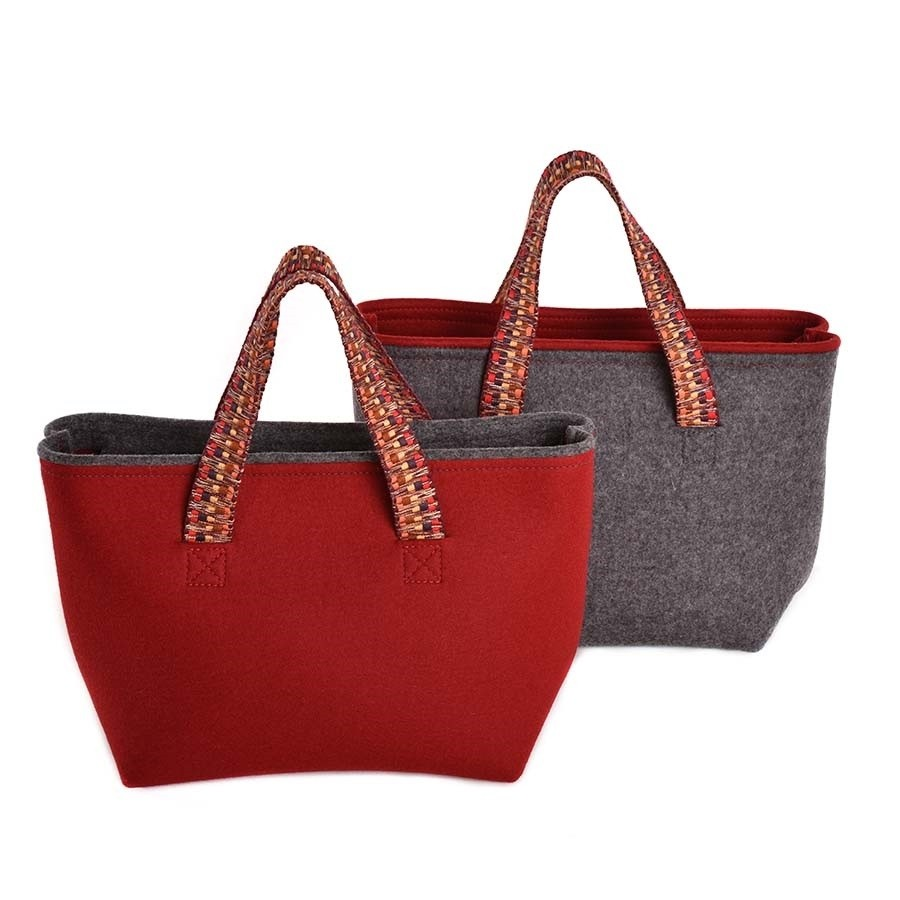 Shopper Tasche aus Filz MARLENE