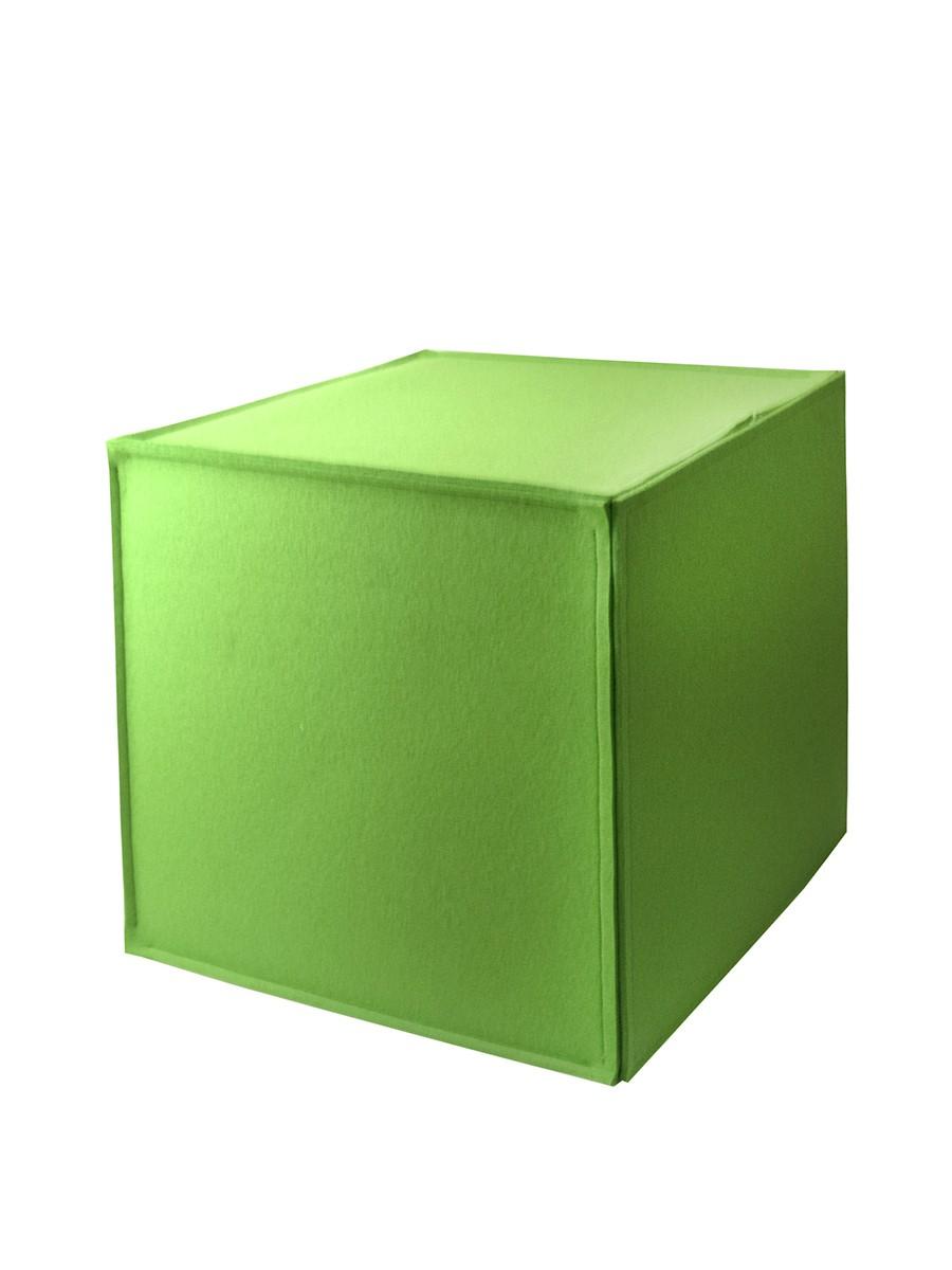 Sitzwürfel aus Filz