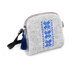 Farbotka Handtasche Rhombus blau