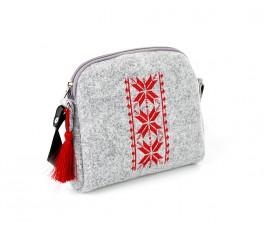 Farbotka Handtasche Rhombus rot