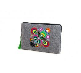 Farbotka Tablettasche gemusterte farbig