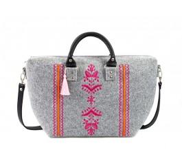 Farbotka Handtasche Ähre rosa