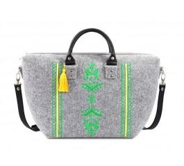 Farbotka Handtasche Ähre grün