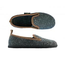 Filzpantoffeln Modell No.302 weicher Hausschuh mit integriertem Fußbett