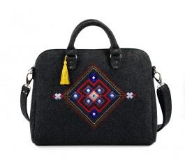 Farbotka Filz-Handtasche Quadrat 338