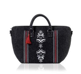 Farbotka Handtasche Ähre weiß