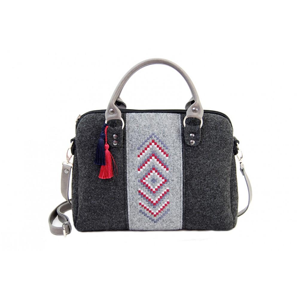 farbotka handtasche handtaschen aus filz filztaschen. Black Bedroom Furniture Sets. Home Design Ideas